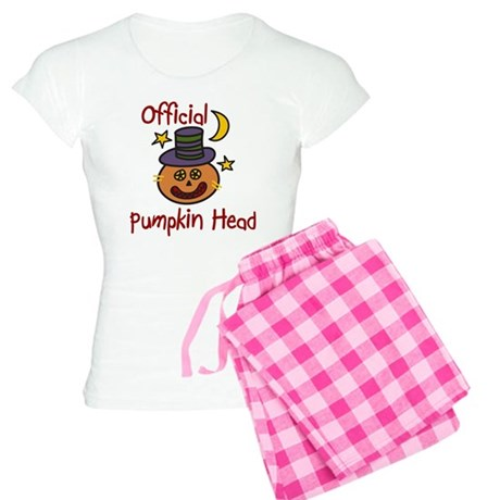 Official Pumpkin Head Women's Light Pajamas