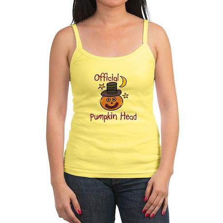 Official Pumpkin Head Jr. Spaghetti Tank