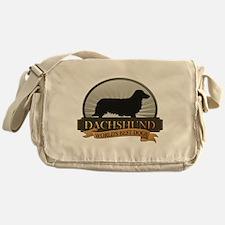 Dachshund [long-haired] Messenger Bag
