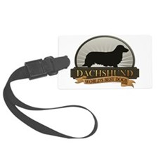 Dachshund [long-haired] Luggage Tag