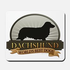 Dachshund [long-haired] Mousepad