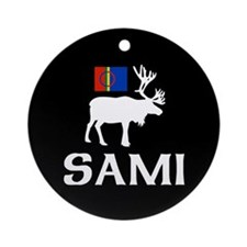 Sami, the People of Eight Seasons Ornament (Round)