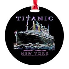 Titanic Neon (black) Ornament