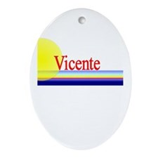 Vicente Oval Ornament