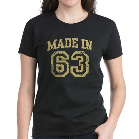 Made in 63 Women's Dark T-Shirt