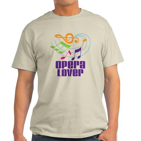 Opera Lover Gift Light T-Shirt