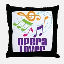 Opera Lover Gift Throw Pillow
