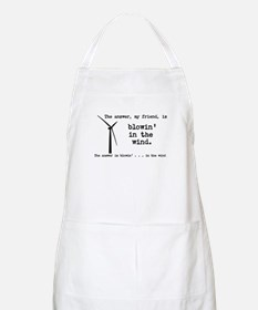 blowin in the wind Apron