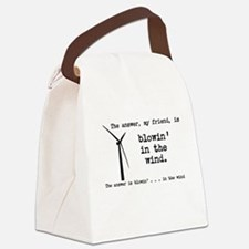 blowin in the wind Canvas Lunch Bag