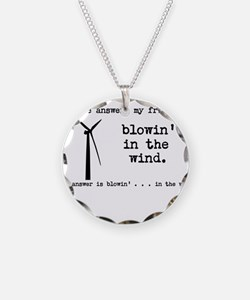 blowin in the wind Necklace