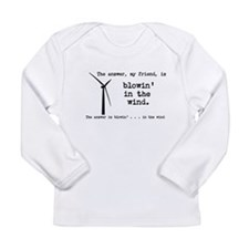 blowin in the wind Long Sleeve Infant T-Shirt