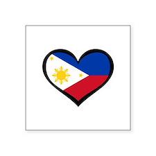Filipino Love Rectangle Sticker