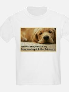 Happiness is Golden Kids T-Shirt