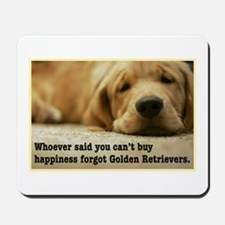 Happiness is Golden Mousepad