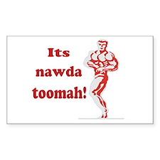 nawda toomah Bumper Stickers
