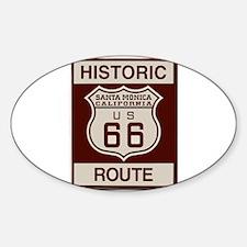 Santa Monica Route 66 Decal
