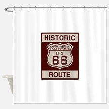 Santa Monica Route 66 Shower Curtain
