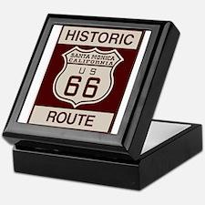 Santa Monica Route 66 Keepsake Box