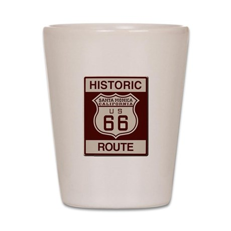 Santa Monica Route 66 Shot Glass