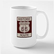 Santa Monica Route 66 Large Mug
