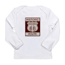Santa Monica Route 66 Long Sleeve Infant T-Shirt