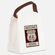 Santa Monica Route 66 Canvas Lunch Bag