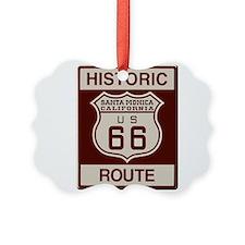 Santa Monica Route 66 Ornament