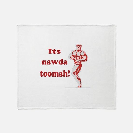 nawda toomah Throw Blanket
