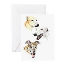 """Trio"" Greeting Cards (Pk of 10)"