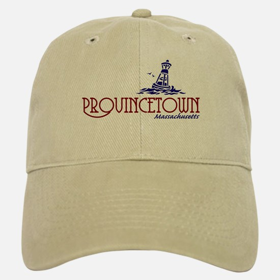 Provincetown Massachusetts Baseball Baseball Cap