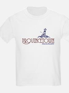 Provincetown Massachusetts Kids T-Shirt