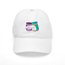 Peanut Butter nd Jelly Love Baseball Cap