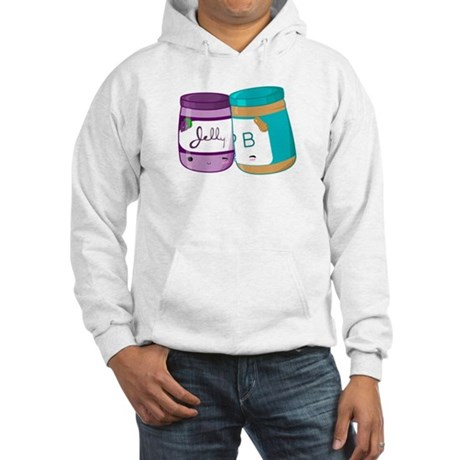 Peanut Butter and Jelly Love Hooded Sweatshirt