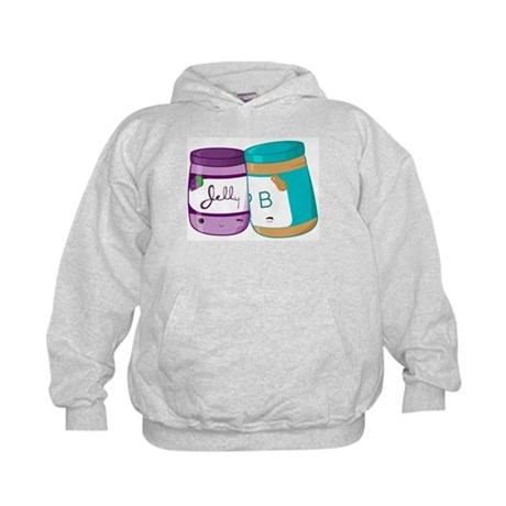 Peanut Butter and Jelly Love Kids Hoodie