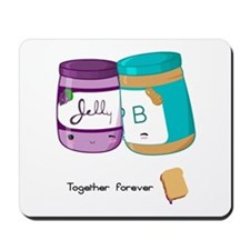 Peanut Butter and Jelly Love Mousepad