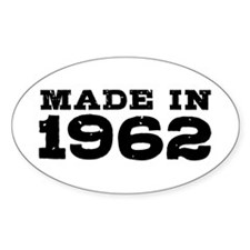 Made in 1962 Decal