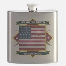 10th New York (Diamond).png Flask