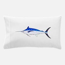 Blue Marlin fish Pillow Case