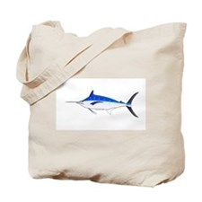 Blue Marlin fish Tote Bag