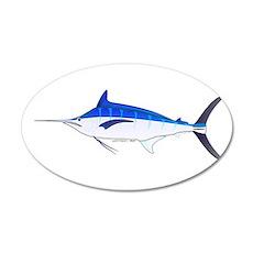 Blue Marlin fish Wall Decal