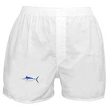 Blue Marlin fish Boxer Shorts