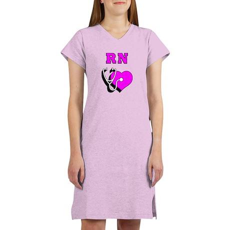 RN Nurses Care Women's Nightshirt