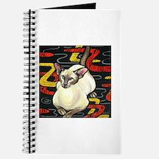 Siamese Cat on a Cushion Journal