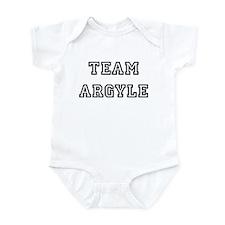 TEAM ARGYLE T-SHIRTS Infant Creeper