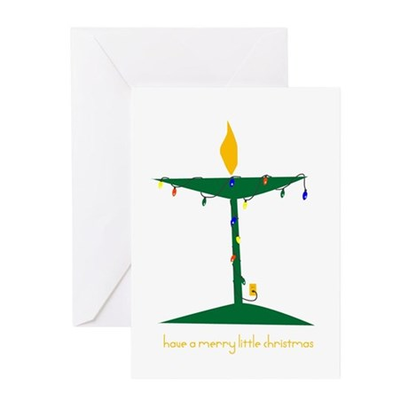 UU Christmas Tree Greeting Cards (Pk of 10)