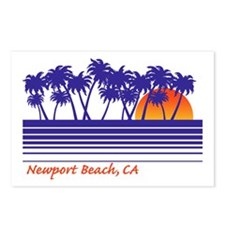 Newport Beach California Postcards (Package of 8)