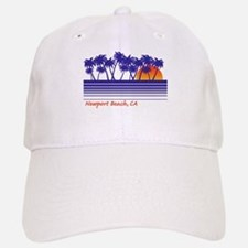 Newport Beach California Baseball Baseball Cap