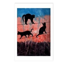 Cats on a Wire Postcards (Package of 8)