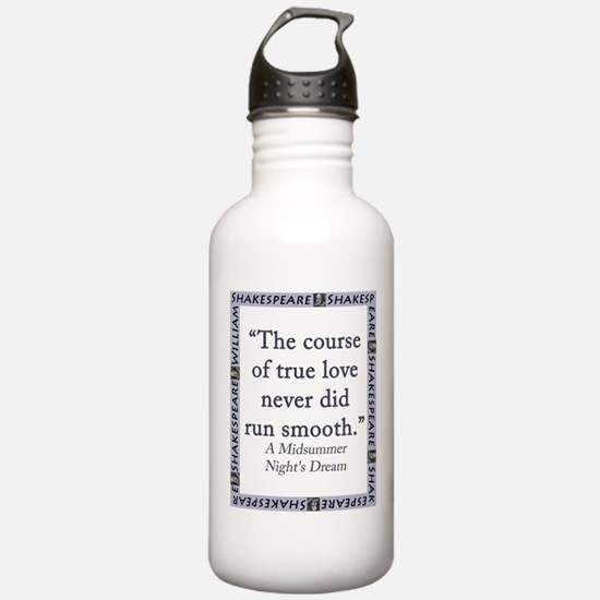 The Course of True Love Water Bottle