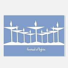 UU Festival of Lights Postcards (Package of 8)